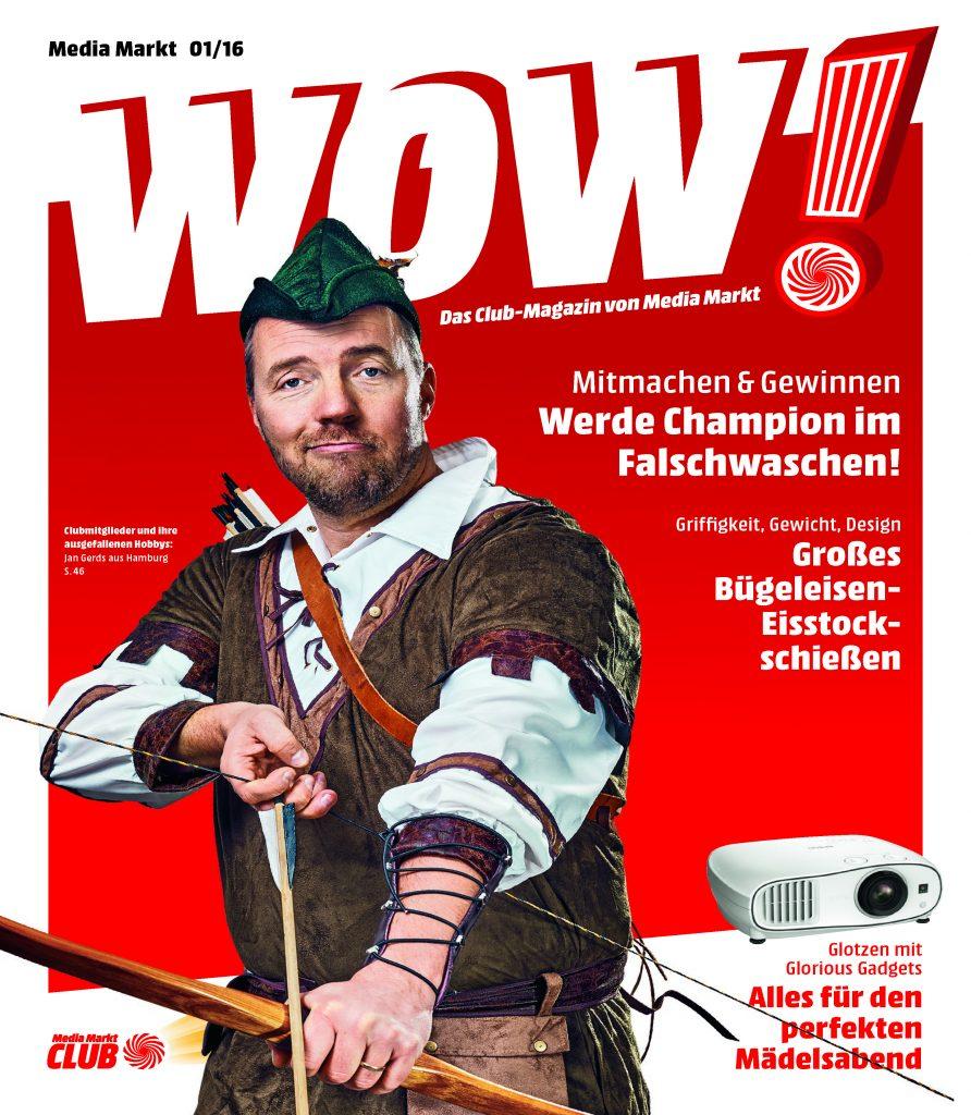 MediaMarkt Club-Magazin WOW! 1/2016