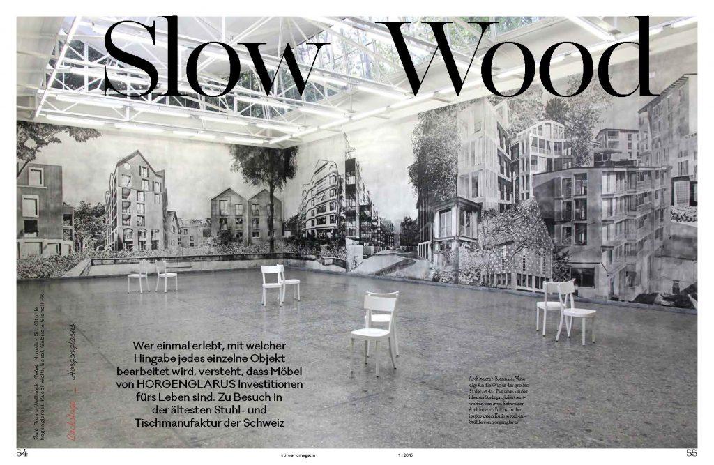 Slow Wood