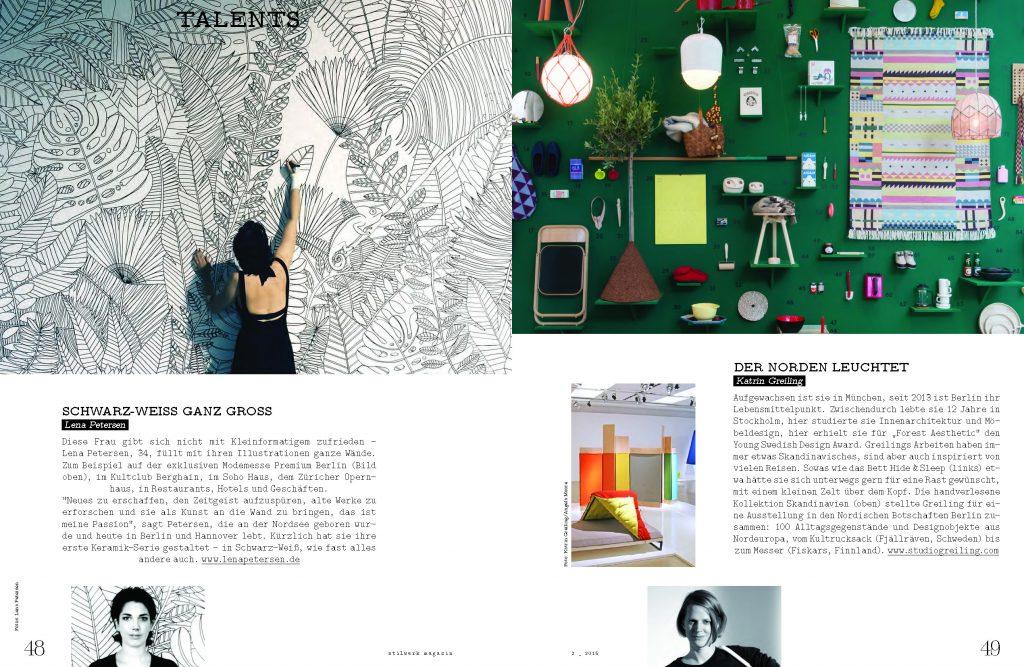 stilwerk Magazin NEUES 2015