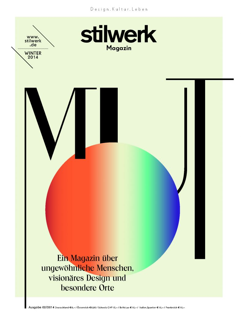 stilwerk Magazin Winter 2014