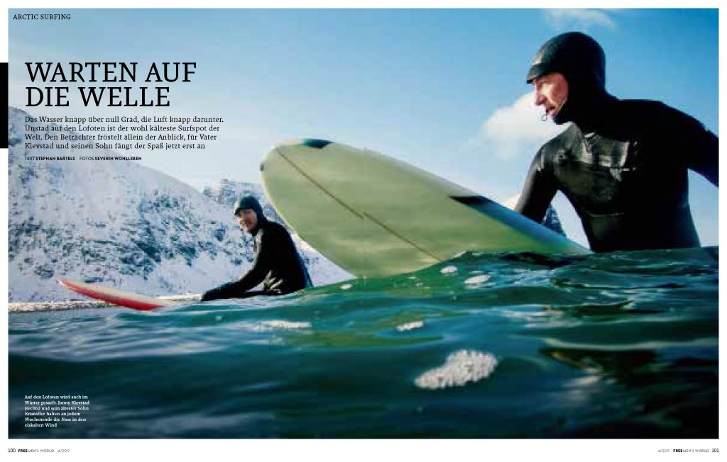 Free Men's World 4/2017 - Lofoten